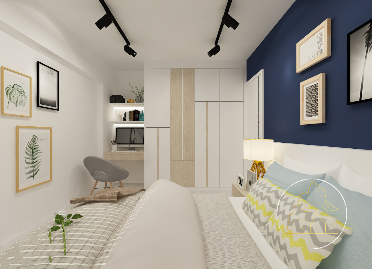 4_Living_Bedroom_InteriorDesign_renovation_Singapore