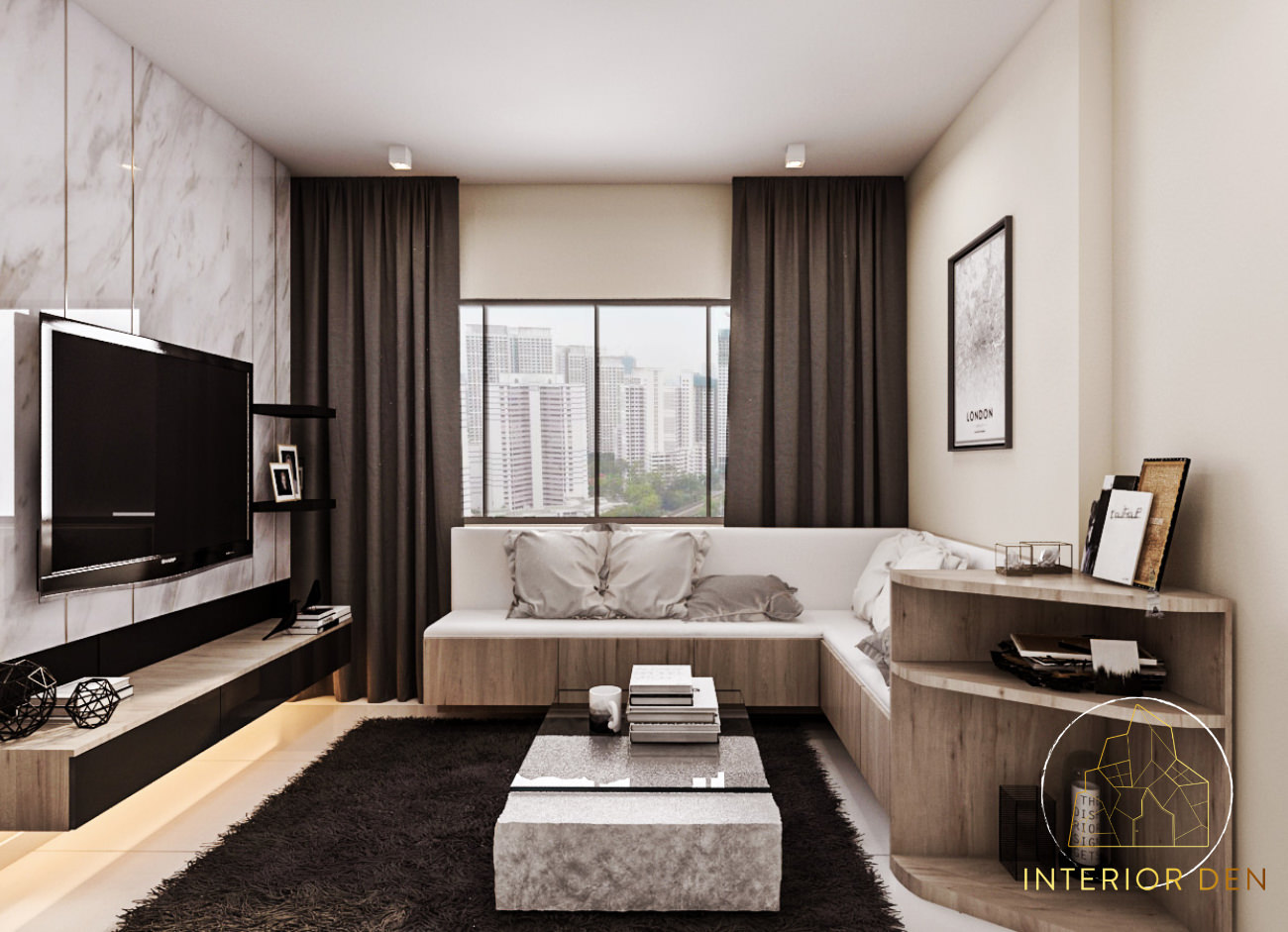 2__LivingHall_SengKang_West_Road_Singapore_InteriorDesigner_Renovation